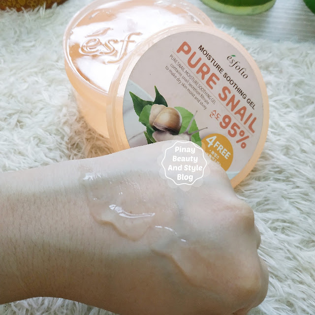 Esfolio Pure Snail Moisture Soothing Gel Review