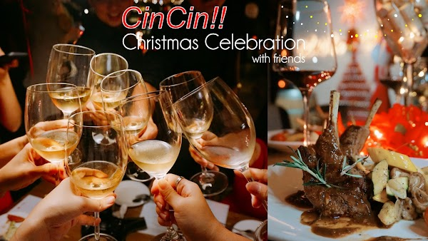 Festive Celebration with BESTIE at Cincin!
