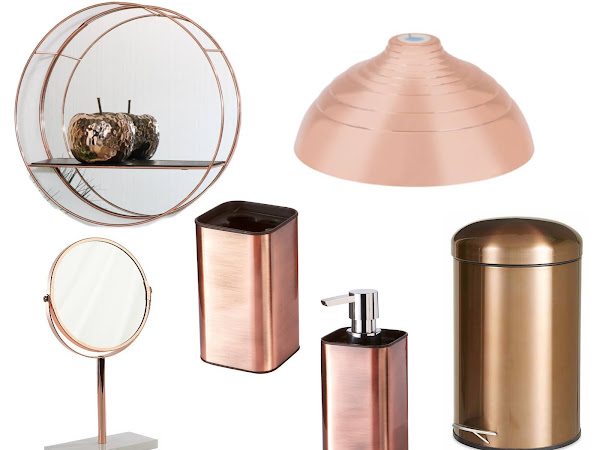 Bathroom Update | Copper Accessories