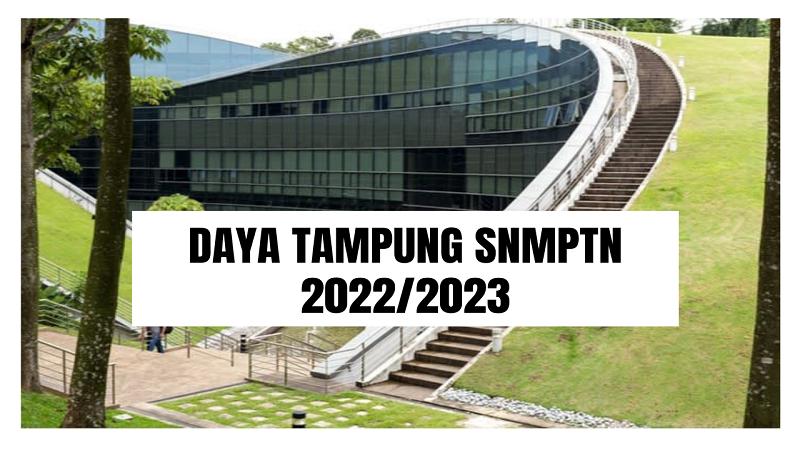 Daya Tampung SNMPTN 2022/2023