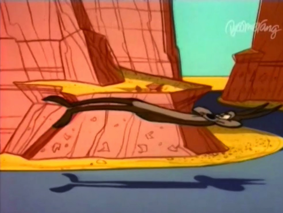 Wile E Coyote And Road Runner War And Pieces