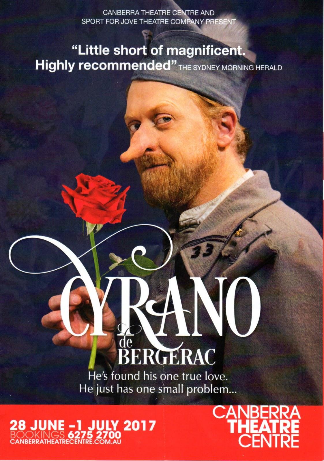 Canberra Critics Circle Cyrano De Bergerac