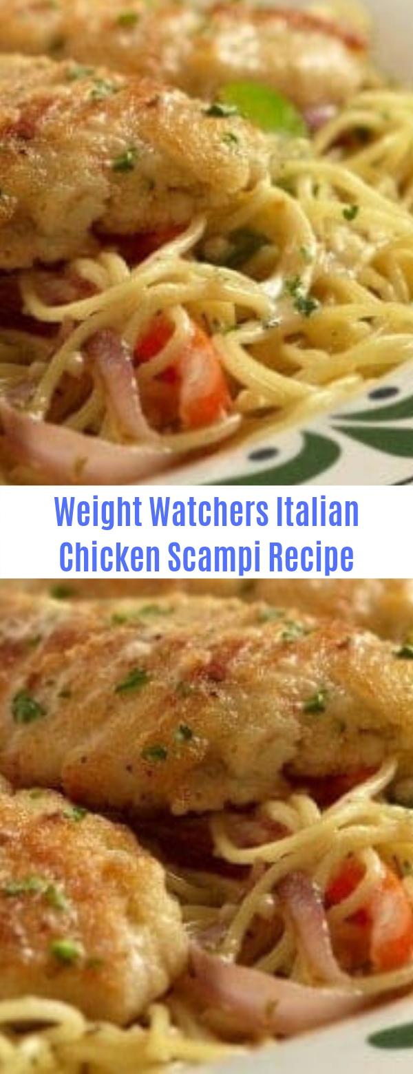 Weight Watchers Italian Chicken Scampi Recipe