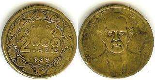 2000 Réis, 1939