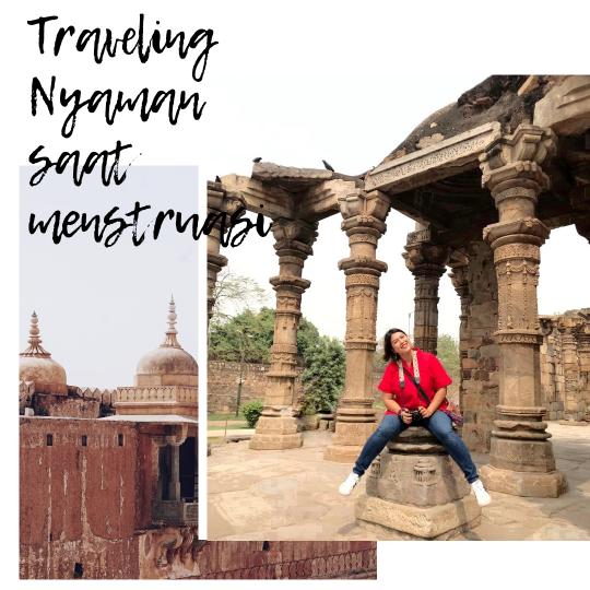 traveling saat menstruasi
