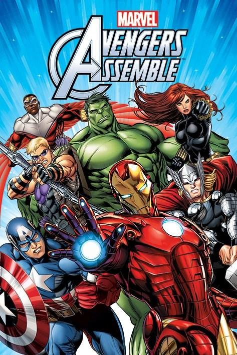 Marvel's Avengers Assemble Serie Completa Dual Ingles/Latino 1080p/720p