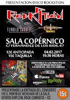 Rockstión, Tequila Sunrise y Conan en Sala Copernico