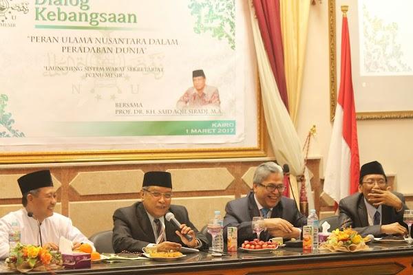 Dialog Kebangsaan Ketum PBNU di Azhar Syarif
