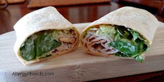 gluten free flexible wraps food