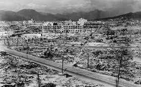 قنبلة هيروشيما - الحرب العالمية الثانية