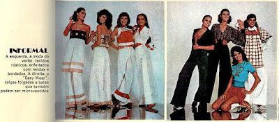 moda feminina anos 70; moda na década de 70;