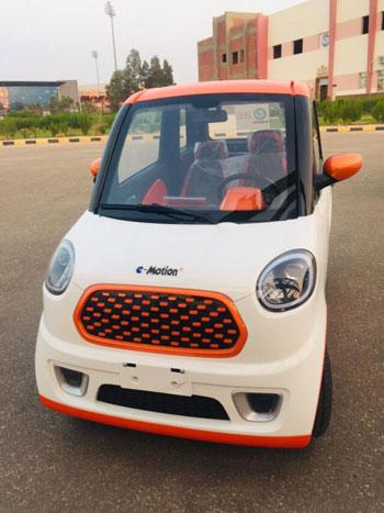 تعرف على المميزات المتعددة للسيارة الكهربائية الجديدة..
