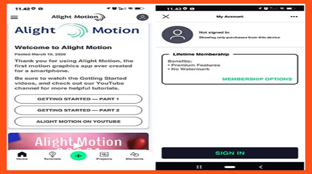 Cara Mengubah Bahasa di Alight Motion