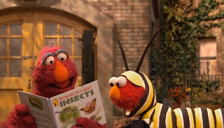 Sesame Street Elmo and the Monarch Butterfly
