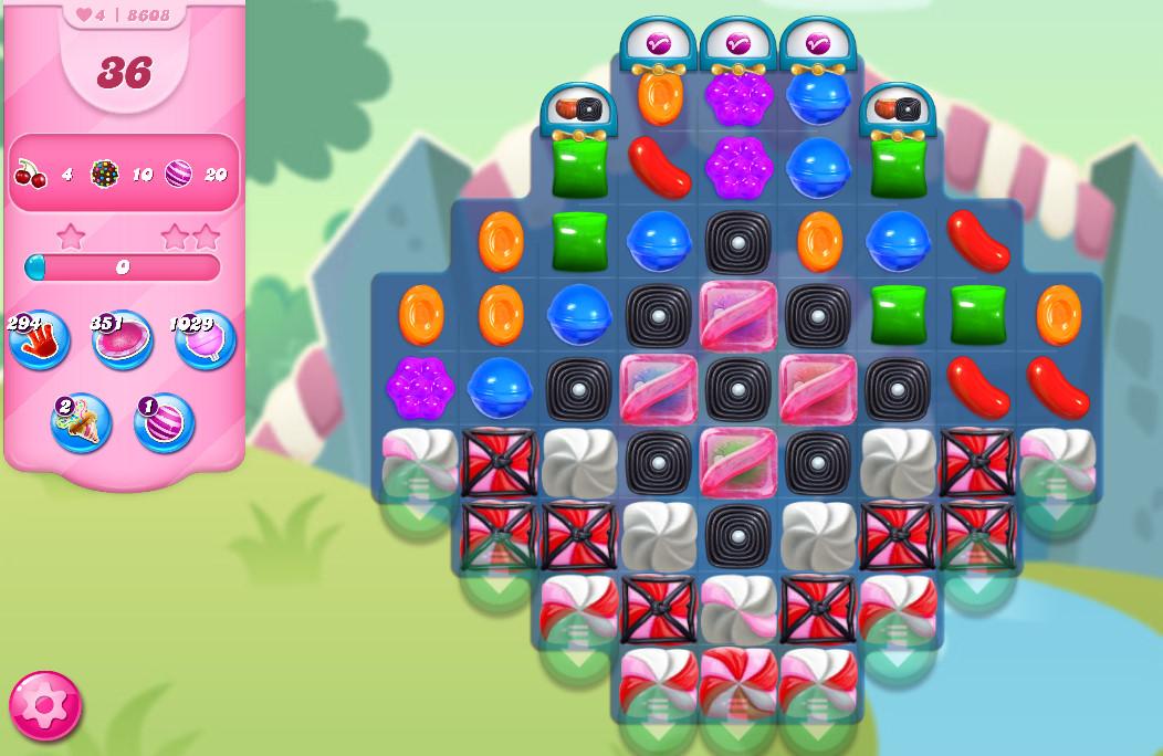 Candy Crush Saga level 8608