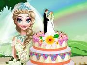 لعبة طبخ كعكه الزفاف إلسا