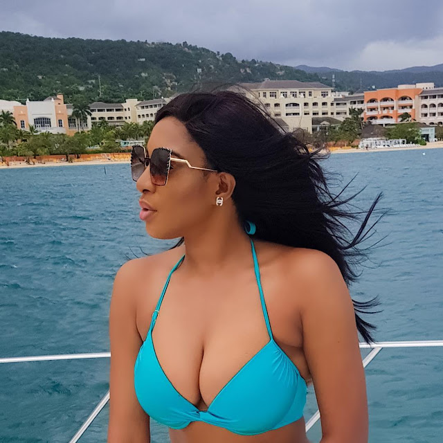 Chika Ike Shares Vacation Photos From Jamaica