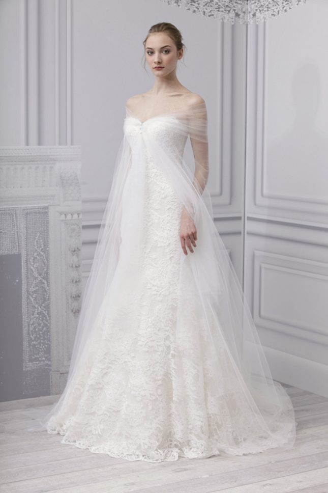 Monique Lhuillier Spring 2013 Bridal Collection + My Dress Of The ...