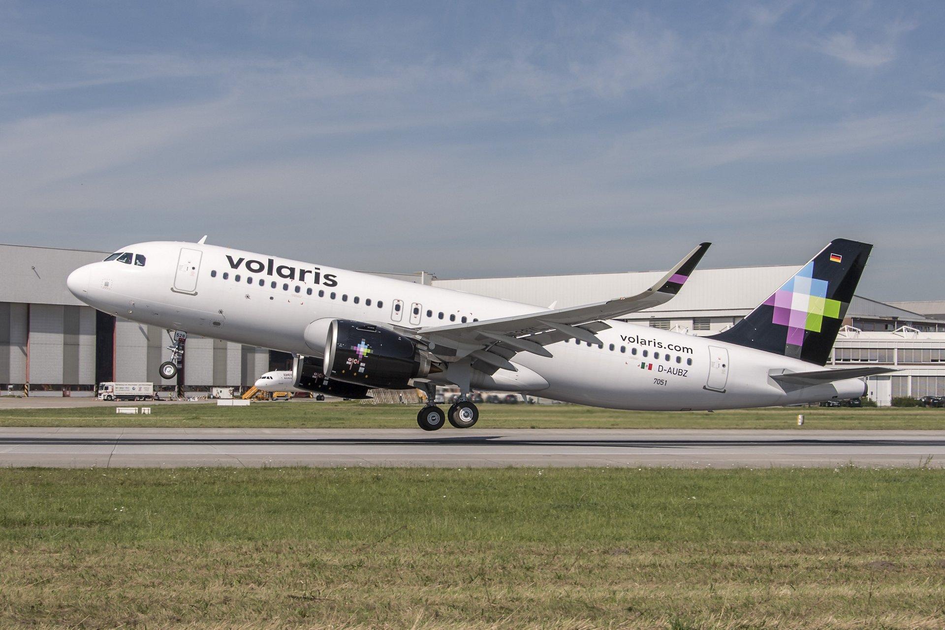 VOLARIS AVIONES A320 NEO FLOTA 01