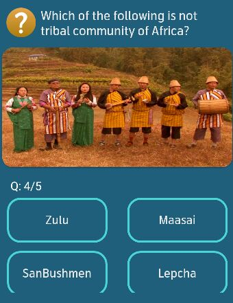 Which of the following is not tribal community of Africa?