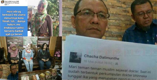 Kebelinger! Dr. Chacha, Bela Ulama Malah Dipecat, Dr. Fiera Hina Uama, Malah Dibela