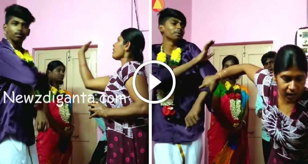 """""""காதல் கல்யாணம் முடித்து வீடு வந்த 2k kid… வெளுத்து வாங்கிய அம்மா ..!!"""