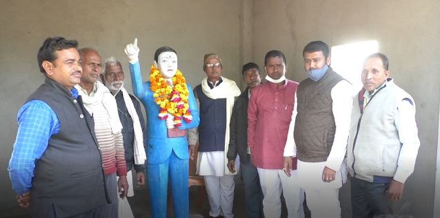 Ambedkar temple inaugurated in Parsau village