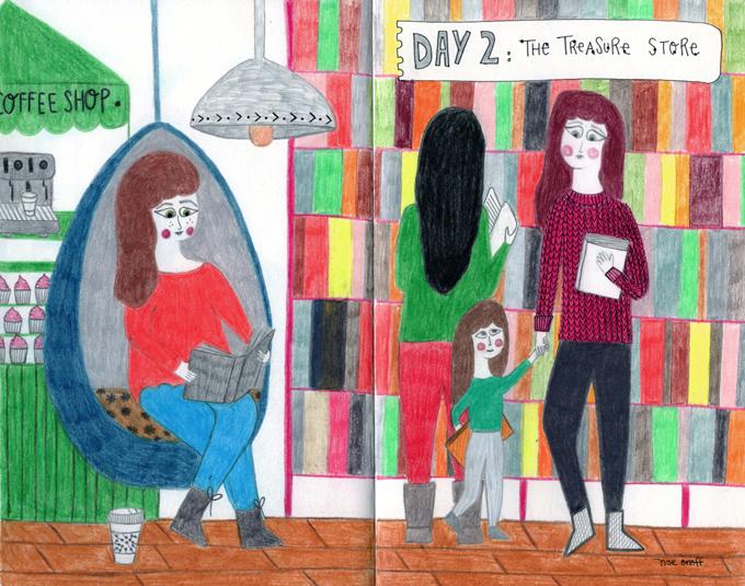 Illustrator's Diary. Day #2: The Treasure Store