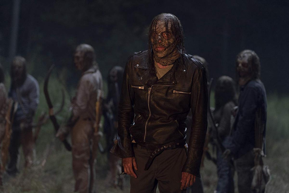 Negan, en el episodio 10x11 Morning Star de The Walking Dead