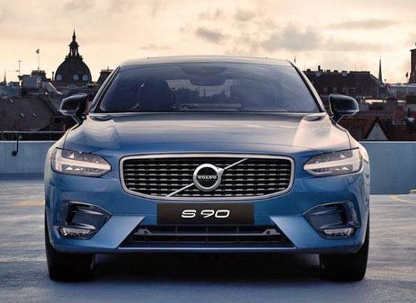 Burlappcar 2020 Volvo S90