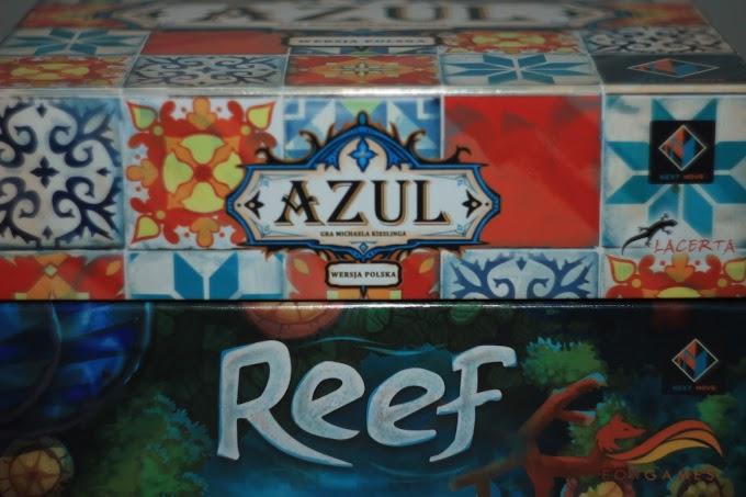 Azul czy Reef? - porównanie abstrakcyjnych gier rodzinnych