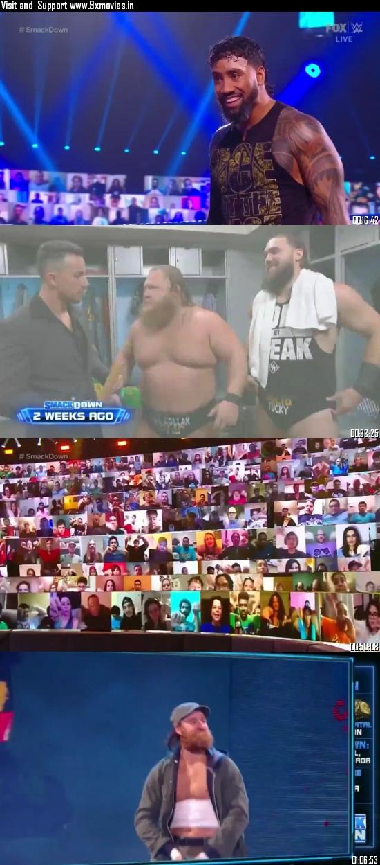 WWE Friday Night Smackdown 25 September 2020 HDTV 720p 480p 300MB