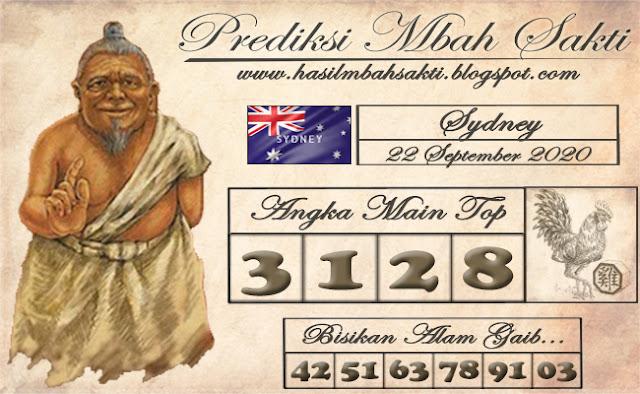 Prediksi Mbah Sakti Togel Sydney Selasa 22 September 2020