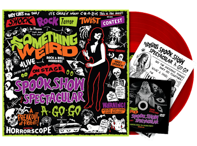 The SPOOK SHOW SPECTACULAR A-GO-GO LP/DVD Combo comes with Everything Seen Here!