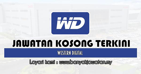 Jawatan Kosong 2020 di Western Digital