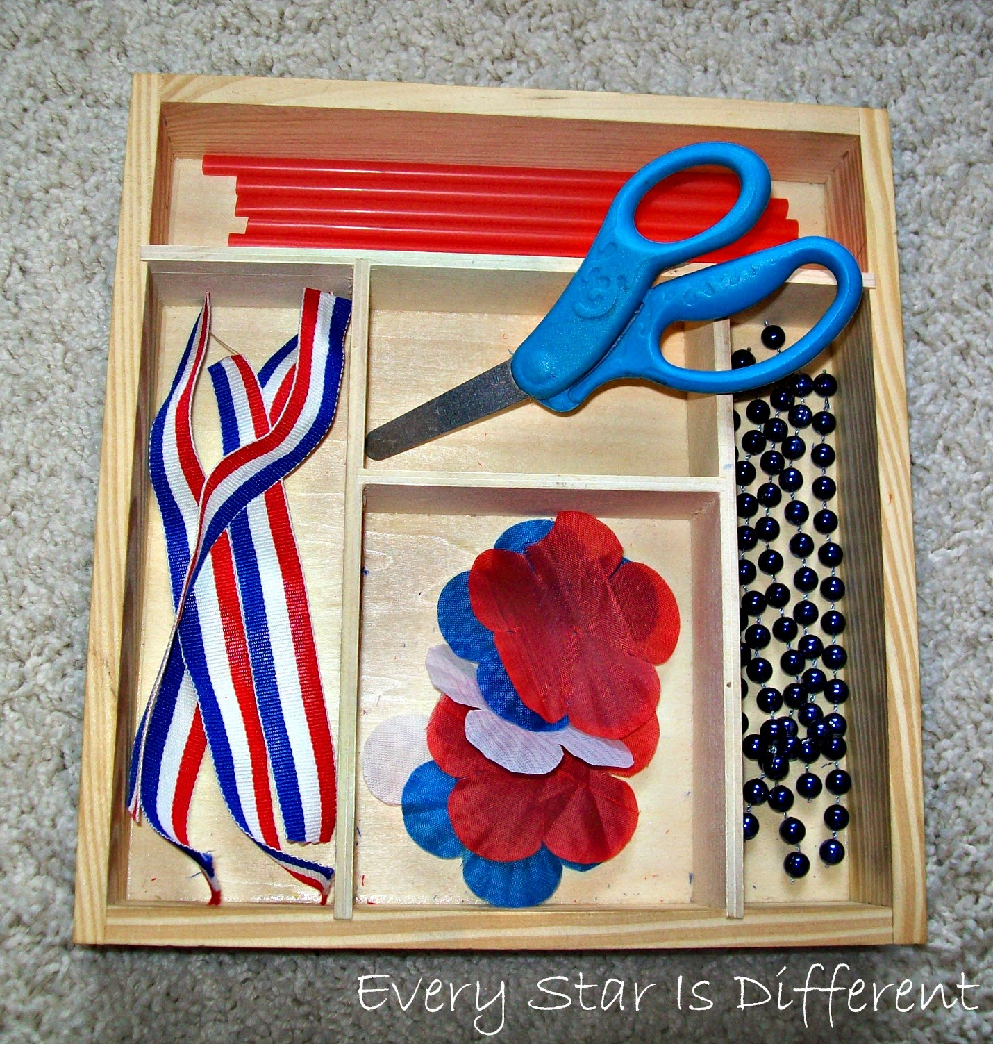 Patriotic Cutting Activity