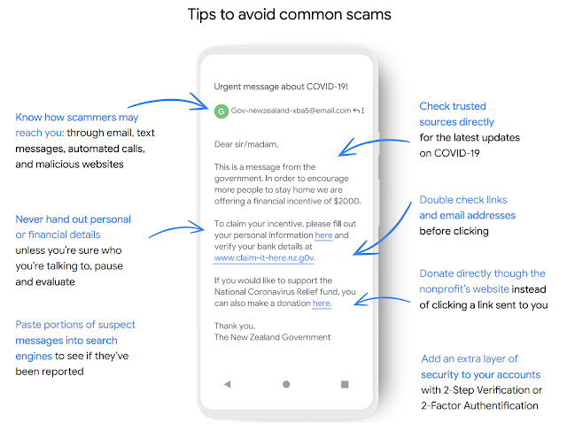 Tips to Avoid Common Scams