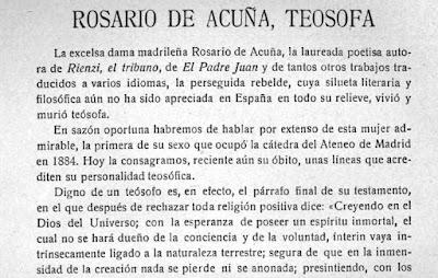 Fragmento del texto publicado en la revista Hesperia
