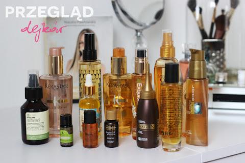 Przegląd silikonowych olejków do włosów | + moje TOP5 - czytaj dalej »