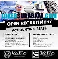 Open Recruitment at Law & Tax Firm Surabaya Agustus 2020