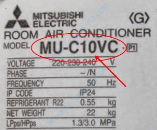 Kode BTU AC untuk mengetahui kapasitas pendinginan