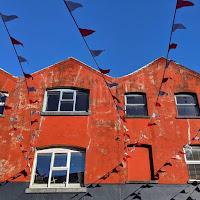 Images of Ireland: Orange facade in Cork City