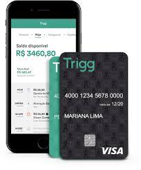 Convite cartão de crédito Trigg - Convites de cartão de crédito