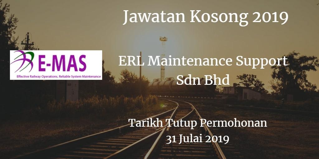 Jawatan Kosong E-MAS 31 Julai 2019