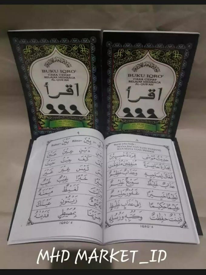 Buku Belajar Baca Al-Qur'an