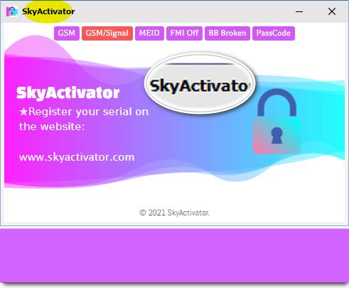 New Update SkyActivator Tool-GSM iCloud Bypass