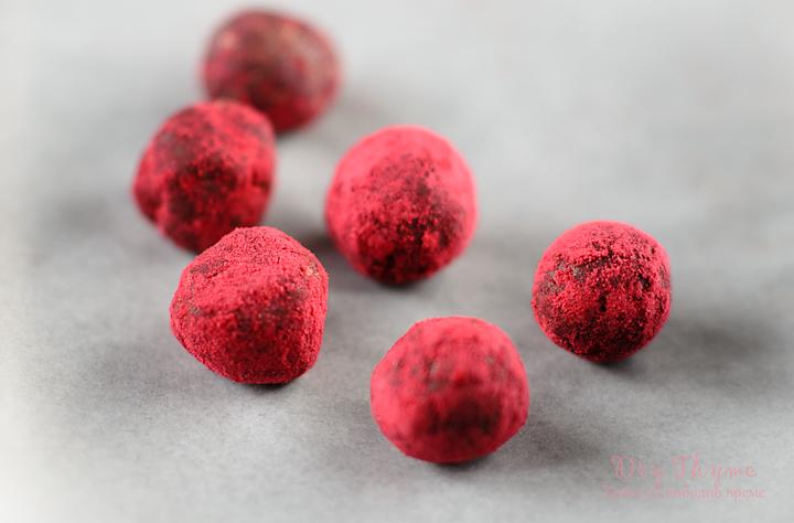Сурови бонбони с бадемов тахан