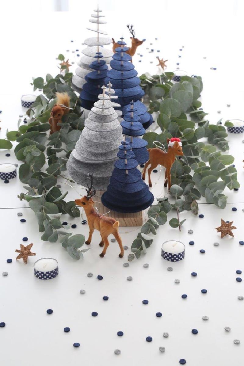 12 decorazioni di Natale fai da te da copiare