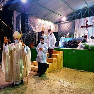 Dom Dulcênio visita Paróquias e celebra Missas em honra aos Padroeiros