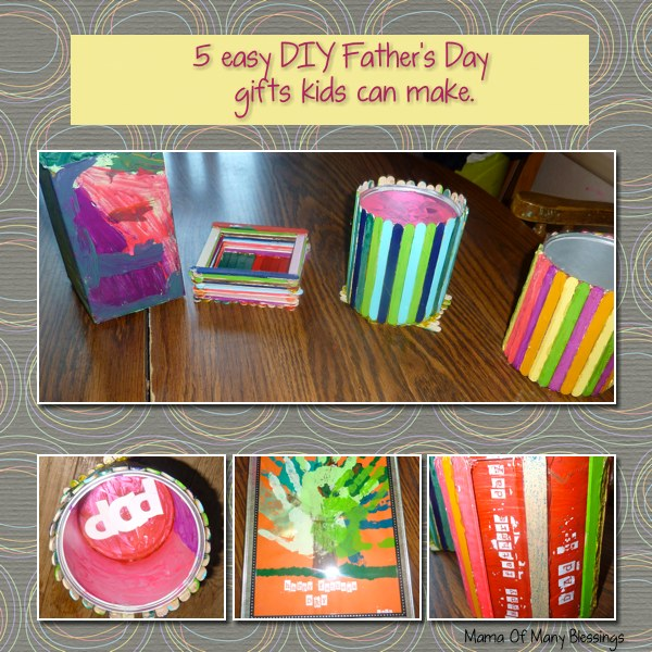 5 Easy DIY Fathers Day Gifts